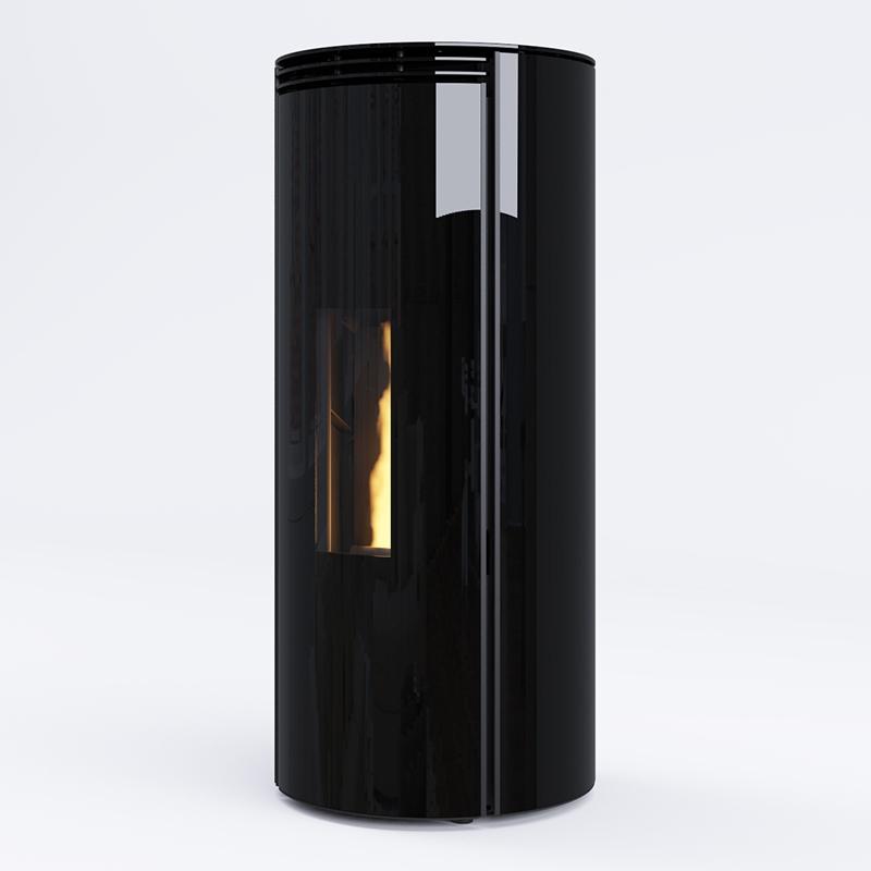 Poêles à granulés SKIA DESIGN Mini Fusion Glass Noir Etanche