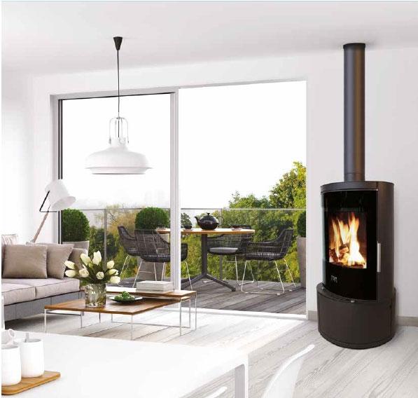 Poêles à bois COLOR AND FIRE Vision D17